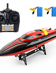 cheap -RC Boat H101 Plastics 4pcs Channels 30km/h KM/H