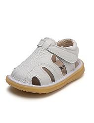 Недорогие -Мальчики Обувь Кожа Лето Обувь для малышей Сандалии для Бежевый / Желтый / Розовый
