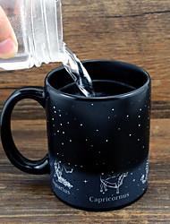 Недорогие -Drinkware Фарфор Кружка Мультфильмы / Термочувствительных изменения цвета / Милые 1 pcs