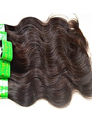 cheap -Indian Hair / Body Wave Body Wave Virgin Human Hair / Remy Human Hair Weave 6 Bundles Human Hair Weaves Hot Sale / For Black Women / 100% Virgin Natural Black Human Hair Extensions Women's