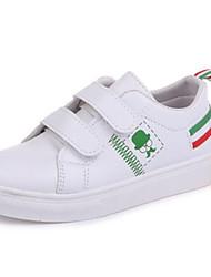 Недорогие -Мальчики Обувь Дерматин Весна Удобная обувь Кеды для Черный / Зеленый