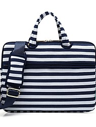 "cheap -Canvas Lines / Waves Handbags / Shoulder Bag 15"" Laptop / 14"" Laptop / 13"" Laptop"