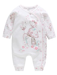 cheap -Baby Unisex Floral Long Sleeve Romper