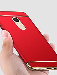 abordables -Coque Pour Xiaomi Redmi Note 4X / Redmi Note 4 Plaqué / Dépoli Coque Intégrale Couleur Pleine Dur PC pour Redmi Note 5A / Xiaomi Redmi Note 4X / Xiaomi Redmi Note 4