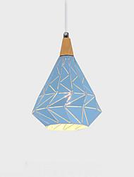 baratos -QINGMING® Geométrica Luzes Pingente Luz Descendente - Estilo Mini, 110-120V / 220-240V Lâmpada Não Incluída / 0-5㎡ / VDE / E26 / E27