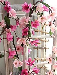 baratos -Flores artificiais 1 Ramo Rústico / Casamento Orquideas Guirlandas & Flor de Parede