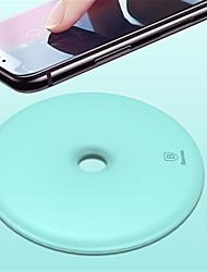 Недорогие -Беспроводное зарядное устройство Зарядное устройство USB Универсальный Беспроводное зарядное устройство / Qi Не поддерживается 1 A DC 9V для iPhone X / iPhone 8 Pluss / iPhone 8
