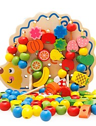 Недорогие -Игрушка для обучения чтению Семья Новый дизайн / Взаимодействие родителей и детей деревянный Детские Подарок 1 pcs