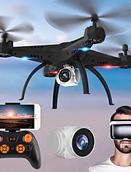 preiswerte -RC Drohne KY501W BNF 4 Kan?le 6 Achsen 2.4G Mit HD - Kamera 2.0MP 720P Ferngesteuerter Quadrocopter FPV / Ein Schlüssel Für Die Rückkehr