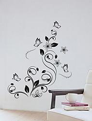 abordables -Calcomanías Decorativas de Pared - Calcomanías de Aviones para Pared Floral / Botánico Sala de estar / Dormitorio
