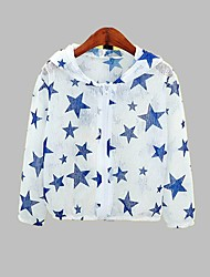 cheap -Kids Unisex Print Long Sleeve Suit & Blazer