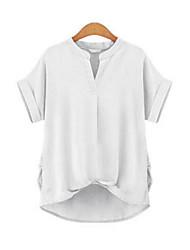 preiswerte -Damen Solide - Grundlegend Bluse