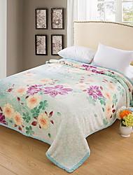 Недорогие -Другое, Активный краситель Геометрический принт 100% акрил / 100%микро волокно одеяла
