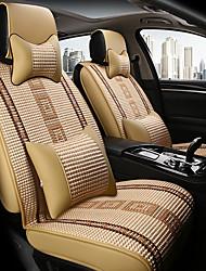 Недорогие -ODEER Чехлы на автокресла Подушки для подголовника и талии Бежевый текстильный Общий for Универсальный Все года Все модели