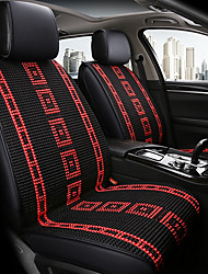 abordables -ODEER Coussins de Siège de Voiture Couvre-siège Noir / Rouge Textile Normal for Universel Toutes les Années Tous les modèles