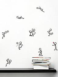 Недорогие -Декоративные наклейки на стены - Простые наклейки Футбол Гостиная Спальня Ванная комната Кухня Столовая Кабинет / Офис