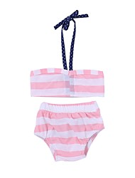 cheap -Toddler / Infant Girls' Striped Swimwear