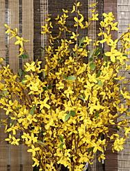 abordables -Fleurs artificielles 9 Une succursale Mariage Renoncules Arbre de Noël