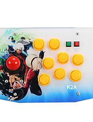 cheap -K2A Wired Game Controllers For Sony PS3 / Android / PC Game Controllers ABS 1pcs unit USB 2.0