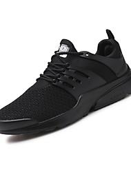 Недорогие -Муж. Легкие подошвы Трикотаж Осень Удобная обувь Спортивная обувь Беговая обувь Белый / Черный / Красный
