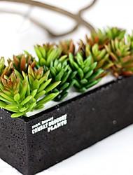 preiswerte -Künstliche Blumen 6 Ast Simple Style / Modern Lotus / Ewige Blumen Tisch-Blumen