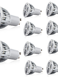 cheap -10pcs 5W 400lm GU10 / E26 / E27 LED Spotlight 3 LED Beads High Power LED Decorative Warm White / Cold White 85-265V