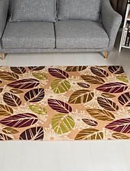 baratos -Os tapetes da área Tradicional Poliéster, Rectângular Qualidade superior Tapete