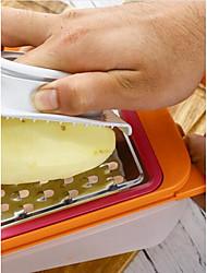 Недорогие -PP Руководство Простой Удобная ручка Многофункциональный Кухонная утварь Инструменты Многофункциональный Для фруктов Для овощного 1шт