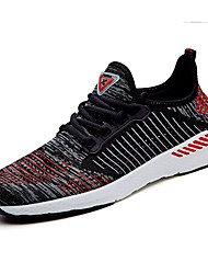 cheap -Men's Knit / Customized Materials / Fabric Spring / Fall Comfort Sneakers Running Shoes Black / Blue / Light Green / Orange / Black