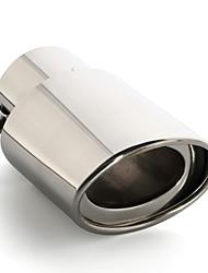 abordables -1 Pièce 70mm Tuyaux d'échappement Unbent Acier Inoxydable Silencieux d'échappement For Nissan NV200 / Ensoleillé / Livina Toutes les