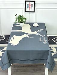 abordables -Moderno / Casual Algodón Cuadrado Forros de Mesa Geométrico / Estampado Decoraciones de mesa 1 pcs