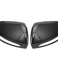 cheap -2pcs Car Side Mirror Covers Business Buckle Type For Left Rearview Mirror / Right Rearview Mirror For Mercedes-Benz C Class / GLC All