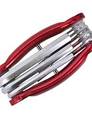 Недорогие -Хром молибденовая сталь Застежки Инструменты Набор гаечных ключей