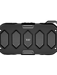 baratos -SOAIY M8 Alto-falante Bluetooth Impermeável Bluetooth 4.0 AUX 3.5mm Altofalante para Ambientes Exteriores Preto