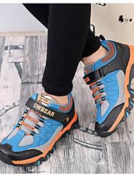 abordables -Garçon Chaussures Similicuir Automne hiver Confort Basket pour Enfants De plein air Bleu / Bleu clair / Bleu royal
