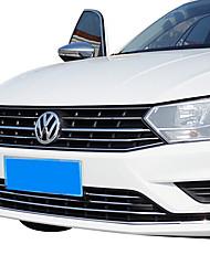 Недорогие -8шт Автомобиль Отделка передней решетки автомобиля Деловые Тип пасты For Решетка для автомобилей For Volkswagen Bora 2018 / 2017 / 2016