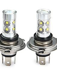 Недорогие -SENCART 2pcs H4 Мотоцикл / Автомобиль Лампы 50W SMD LED 3100lm 10 Светодиодная лампа Противотуманные фары For Универсальный Все года