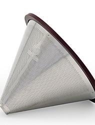 Недорогие -1шт Нержавеющая сталь Фильтр для кофе Heatproof ,  12.8*12.8*9cm