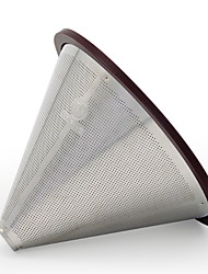 cheap -1pc Stainless steel Coffee Filter Heatproof ,  12.8*12.8*9cm