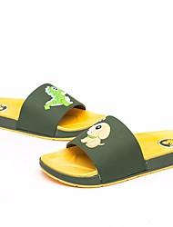 baratos -Para Meninos Sapatos PVC Verão Conforto Chinelos e flip-flops para Ao ar livre Vermelho Verde Azul