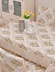 cheap -Classic Cotton Square Table Cloth Patterned Table Decorations 1 pcs