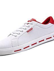 cheap -Men's Rubber Spring / Summer Comfort Sneakers Red / Black / White / White / Green
