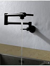 Недорогие -кухонный смеситель - Современный Живопись Горшок Filler На стену
