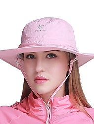 cheap -VEPEAL Hat Summer Quick Dry / Windproof / Breathability Fishing / Traveling / Walking Unisex Chinlon Solid Colored / Mesh
