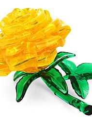 Недорогие -3D пазлы / Хрустальные пазлы Цветы Товары для офиса Acryic / полиэстер 44pcs Взрослые / Средний уровень Все Подарок