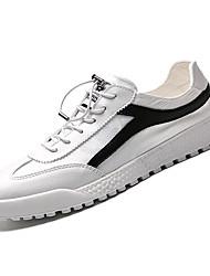 cheap -Men's PU(Polyurethane) Fall Comfort Sneakers Red / Black / White