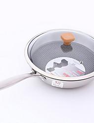 billige -Køkkengrej Rustfrit stål Rund Madlavningsredskaber 1pcs