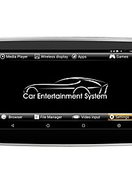 baratos -10.1inch 1 Din 1366*768 Android6.0 DVD Player Automotivo para Universal sem fio Tela de toque Transmissor FM Android Quad Core  -  AVI
