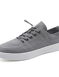 Недорогие -Муж. обувь Ткань Осень Светодиодные подошвы Кеды Черный / Серый / Красный