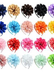 Недорогие -Аксессуары для волос Шёлковая ткань рипсового переплетения парики Аксессуары Девочки 1pcs штук 1-4 дюйм см Для вечеринок / Повседневные